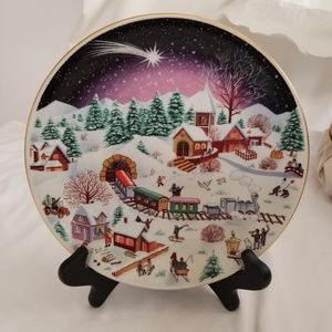 Natal 88 Christmas Plate from Spal Porcelanas